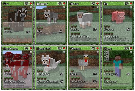 Papercraft Card - papercraft minecraft cards