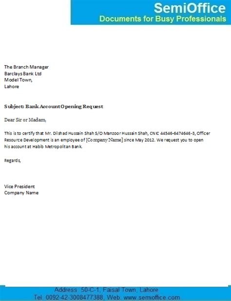 closing account letter sle bank endorsement letter for bank account opening bank account