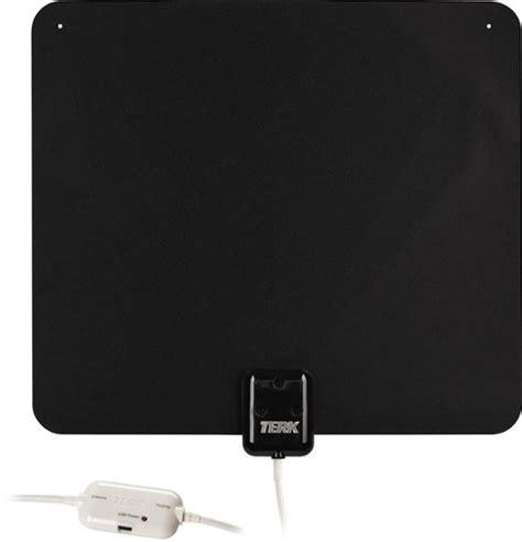 terk ultrathin indoor lified hdtv antenna multi thintv1a best buy