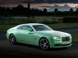 Rolls Royce Colors Este Rolls Royce Color Menta Se Suma A La Colecci 243 N De