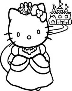 coloriage kitty princesse dessin 224 imprimer sur coloriages