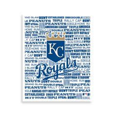 bed bath and beyond manhattan ks kansas city skyline silhouette in royals blue wall hanging