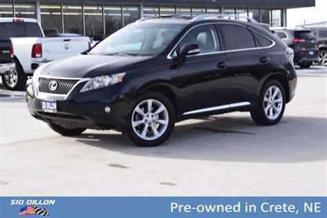 Pre Owned Lexus Rx 350 For Sale by Pre Owned 2011 Lexus Rx 350 4dr Fwd Suv In Crete 8f3461f