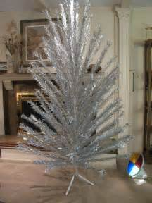 sale 7 ft evergleam aluminum christmas tree w revolving
