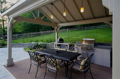 Outdoor Kitchen Island Plans fifthroom com s 12x14 vinyl gable ramada protects guests