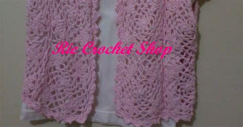 Bolero Rajut Anak Rajutan Handmade rie crochet shop rajutanku handmade