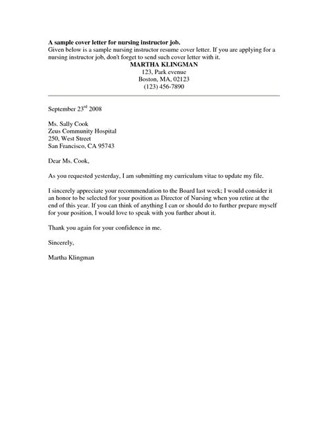 Cover Letter Nursing Sle by Reference Letter For Nurses Sle Cover Letter Templates