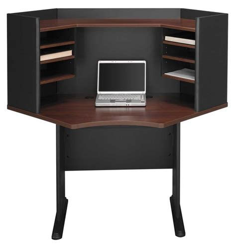 Black Corner Office Desk by Corner Desk Hutch Office Furniture