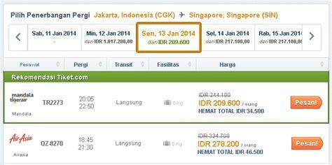 Tiket Jakarta Singapore Pp promo tiket pesawat murah ke singapura wisata singapore