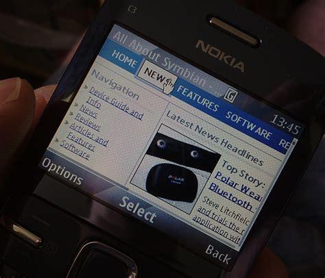 Hp Nokia E63 Terbaru aplikasi opera mini terbaru untuk hp nokia e63