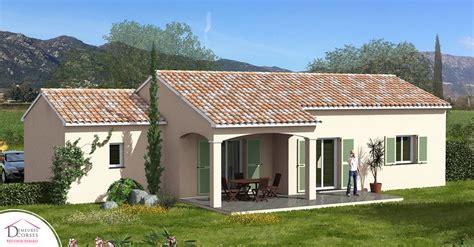 Terrasse Couverte Maison by Maison Rt2012 De Plain Pied Restonica