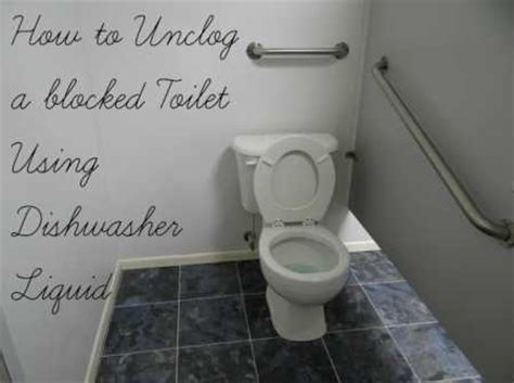 Secret Plumber Tip: How To Unclog Toilet With Dishwasher Soap ? Home and Garden