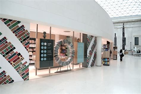 jobs at the design museum london new british museum bookshop features a wheel of books