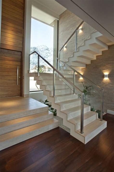 Außengeländer Treppe Edelstahl by Treppe Mit Glasgel 228 Nder F 252 R Schickes Interieur Archzine Net