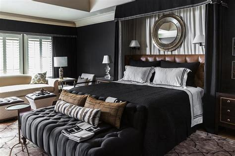 brown black bedroom orange and black bedrooms contemporary bedroom
