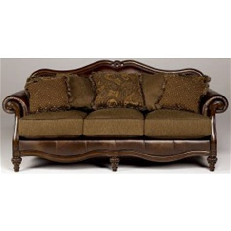 claremore antique sofa claremore antique sofa from ashley 8430338 coleman