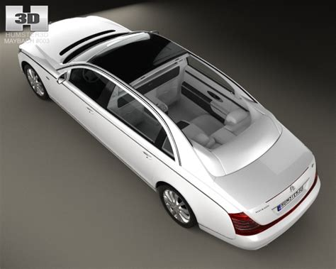 maybach 62s landaulet 2007 3d model