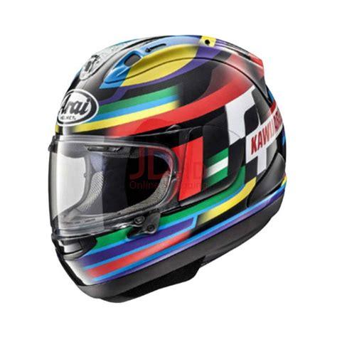 Helm Arai Cargloss Jual Arai Rx7x Kawijamelle Helm Graphic Black