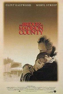 meryl streep wikipedia the free encyclopedia the bridges of madison county film wikipedia