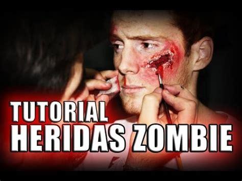 Tutorial De Zombie | tutorial maquillaje heridas zombie cdc producciones