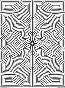 printable geometric coloring pages free geometric coloring pages for adults printable