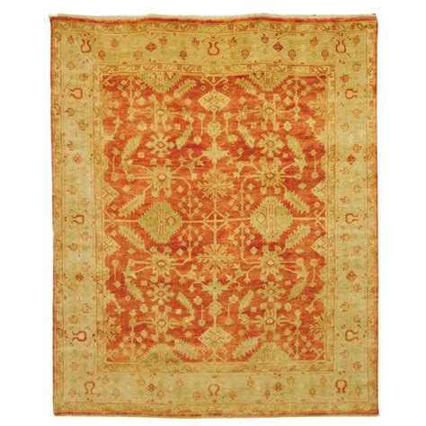 Home Depot Area Rugs 9 X 12 Safavieh Oushak Rust Ivory 9 Ft X 12 Ft Area Rug Osh119a 9 The Home Depot
