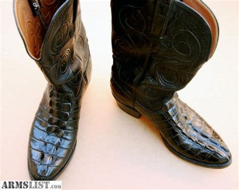 crocodile boots for sale armslist for sale trade lucchese alligator boots