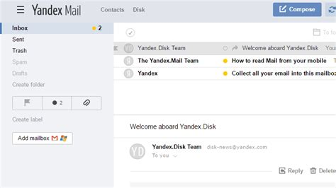 email yandex 9 of the best free email accounts for 2017