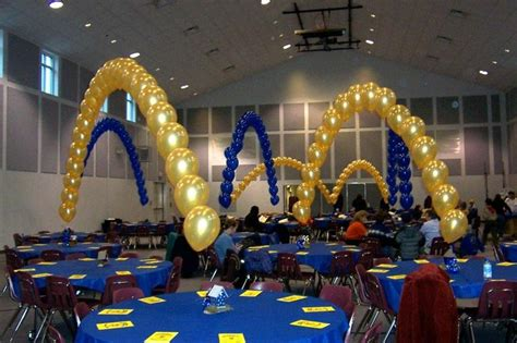 themes for blue and gold banquet balloon arches blue and gold ideas pinterest blue