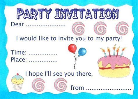 basic invitation template birthday invitation rooftop post printables