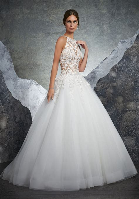bridal gowns wedding dress style 5608 morilee