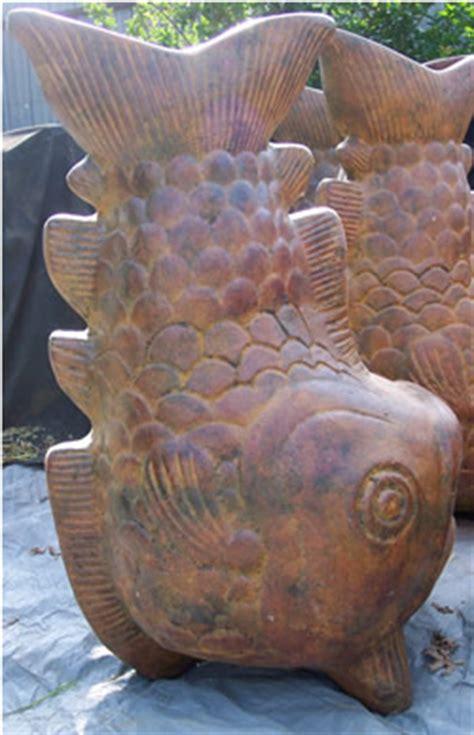 Clay Fish Chiminea Chiminea Jumbo Fish