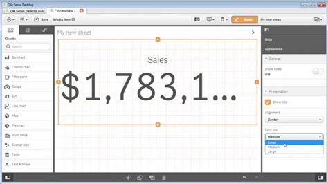qlikview bi tutorial qlik sense using the kpi object