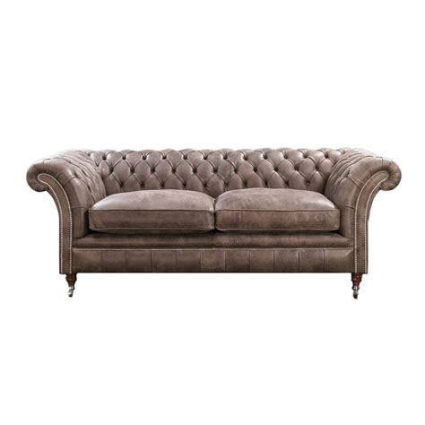 Contemporary Sprung Uk Black Chesterfield Sofa 2 3 4 Seater