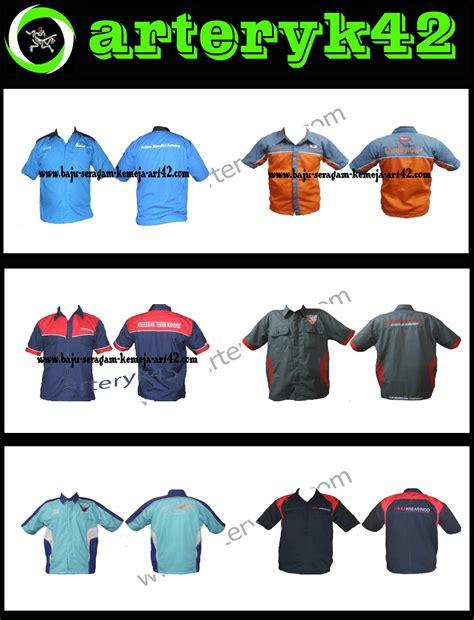 desain baju club motor kemeja seragam keren baju seragam kerja lapangan