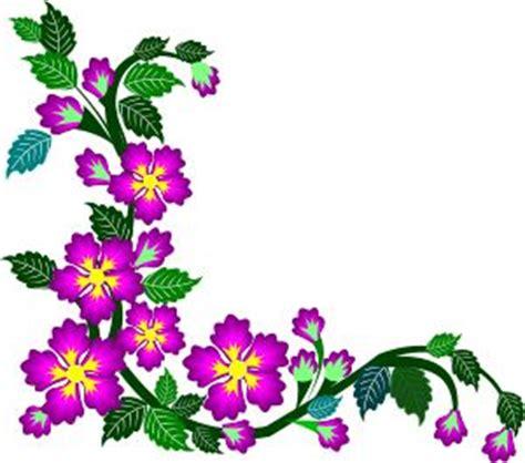 purple flower corner clipart border design   gif   images clip art