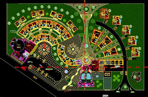 hotel layout plan autocad file resort hotel option 1 dwg block for autocad designs cad