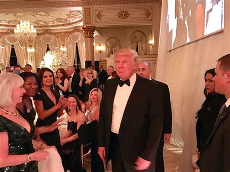 donald trump party a show for the record books galaxy party management