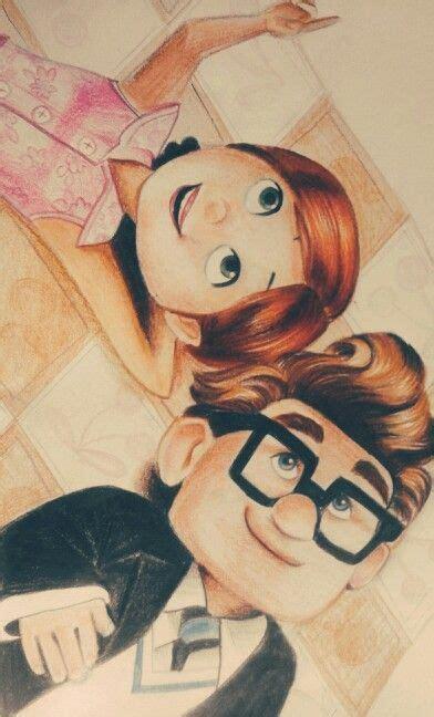 film up opa carl and ellie up pixar sketch by devashree sane my