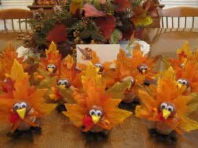 handmade 10 turkey placecard holders thanksgiving home