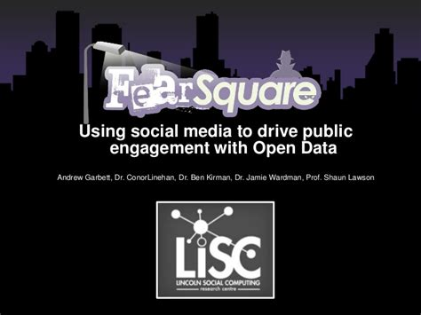 teen2xtreme using social media to using social media to drive public engagement with open data