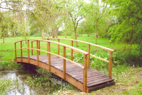 small wooden bridge country style garden bridges bridges for gardens