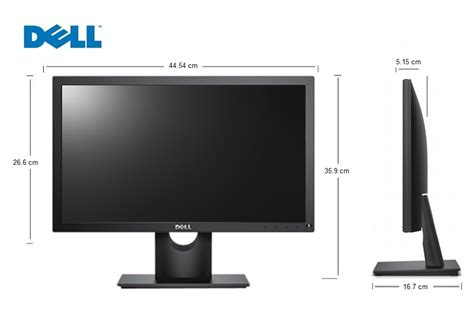 Monitor Led Dell 18 5 monitor dell 18 5 led hd vga e1916h