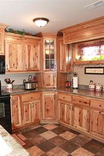 rustic kitchen cabinets the cabinets plus rustic hickory kitchen cabinets