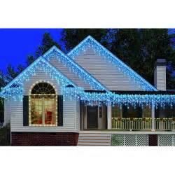 holiday time heavy duty icicle christmas lights walmart com