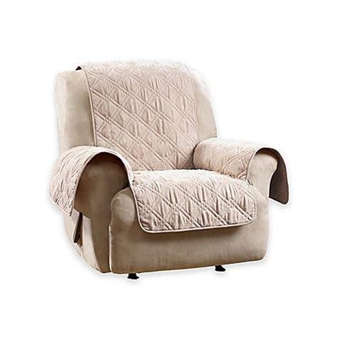 waterproof recliner cover buy sure fit 174 deluxe non skid waterproof recliner cover in