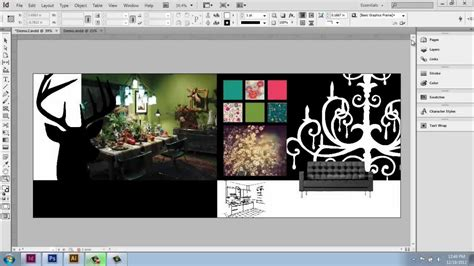 design video adobe indesign cs6 interior design portfolio part 10