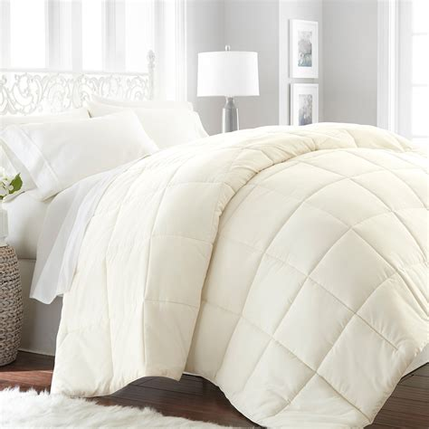 ivory down alternative comforter hotel collection premium ultra plush down alternative