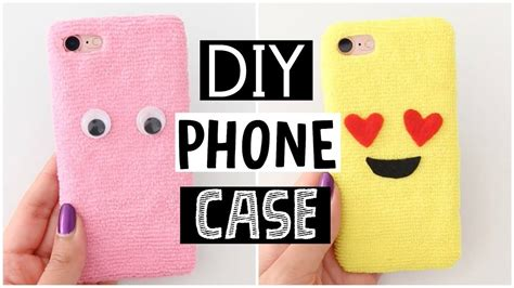 DIY AMAZING FLUFFY PHONE CASES   Cutest Phone Case Ever!, My Crafts and DIY Projects