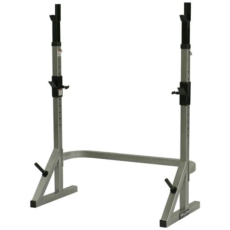 bench and squat valor athletics inc bd 17 combo squat bench rack